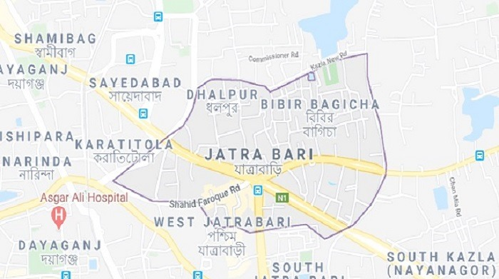 RMG worker stabbed dead in father's presence at Jatrabari