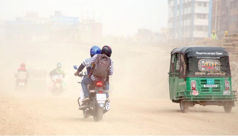 Dhaka's air 'very unhealthy'