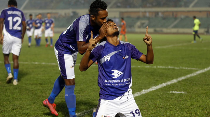 BPL Football: Kings edge past Brothers