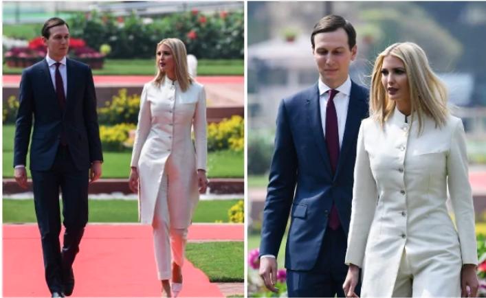 Ivanka Trump wears a sherwani by Anita Dongre designed 20 years ago