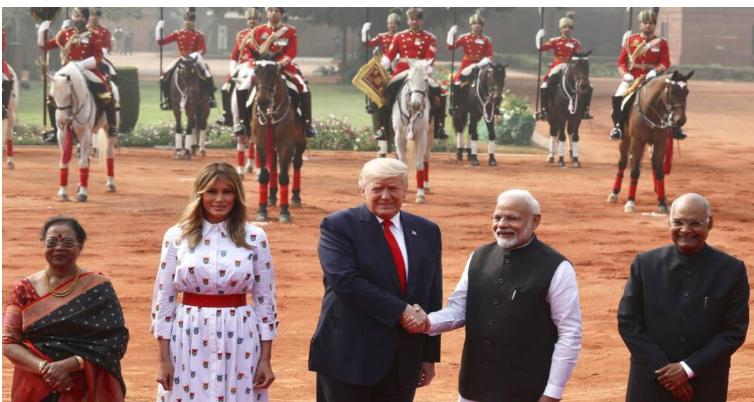 Trump says India to buy $3B military equipment
