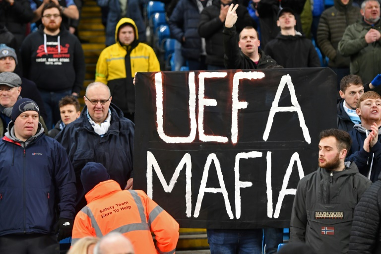 Man City take fight to UEFA on and off the field