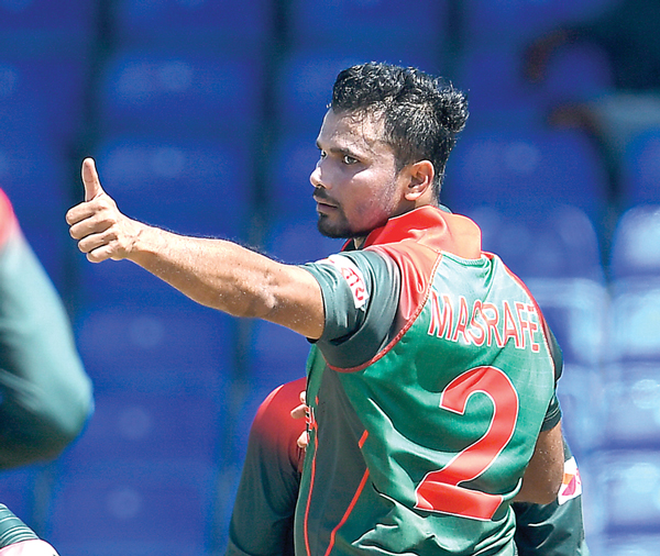 Decision on Mashrafe's ODI career in next BCB meeting