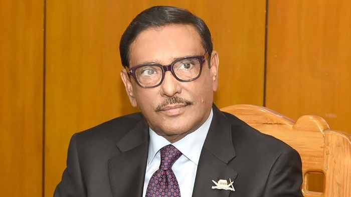 Papiya arrested on Prime Minister's orders: Quader