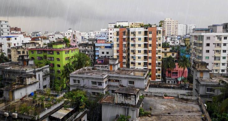 Light rain likely in five divisions