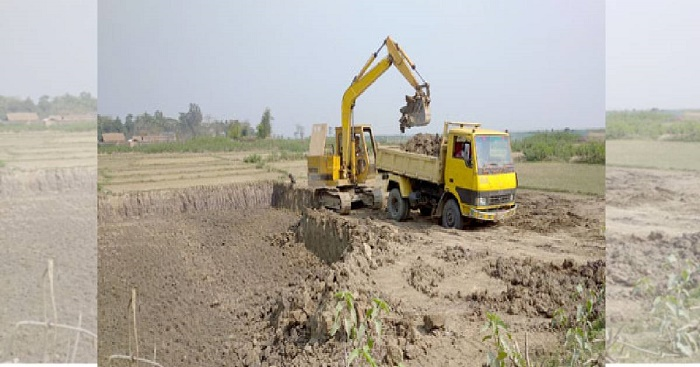 Sunamganj losing land fertility for topsoil extraction