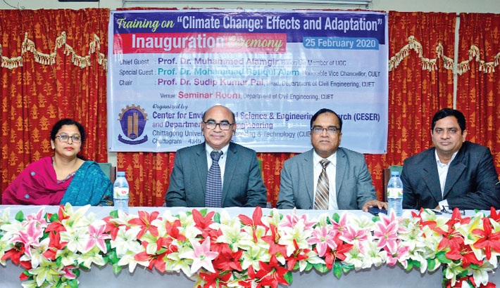 'Focus on adaptation for climate change impacts'