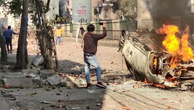 24 dead in Delhi violence