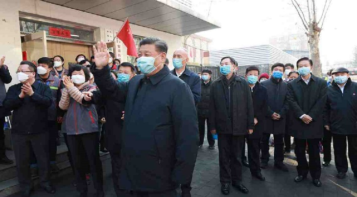 Xi says China makes positive contributions to global public health security