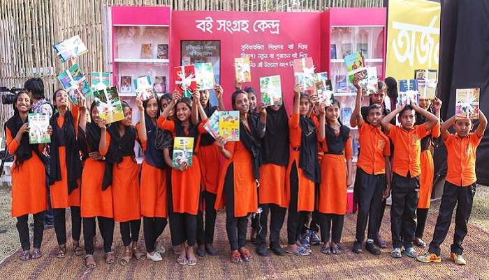 Unique Book Fair Program for Underprivileged Children