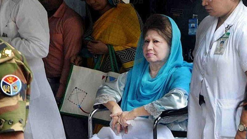 BSMMU submits Khaleda's health report to SC