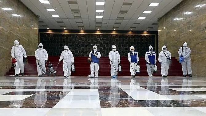 South Korea reports 169 new coronavirus cases, total tops 1,100