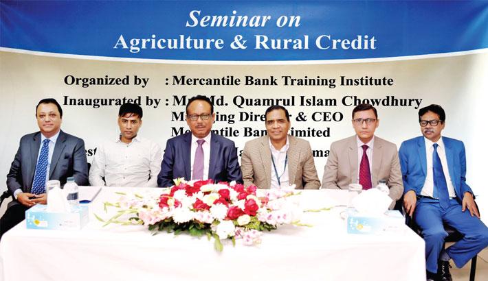 Mercantile Bank holds seminar on 'rural credit'