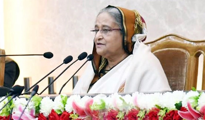 Don't let mosquitoes eat up votes: PM to new Dhaka city mayors, councillors