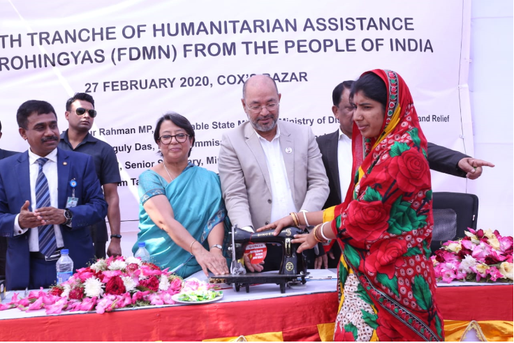 India wants sustainable Rohingya repatriation: Riva