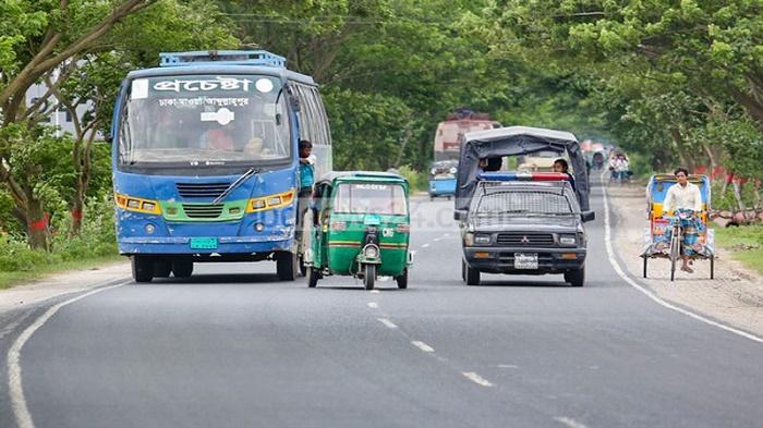 Small vehicles still ply highways