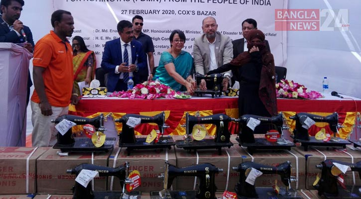 India provides 5th tranche of relief assistance for Rohingyas