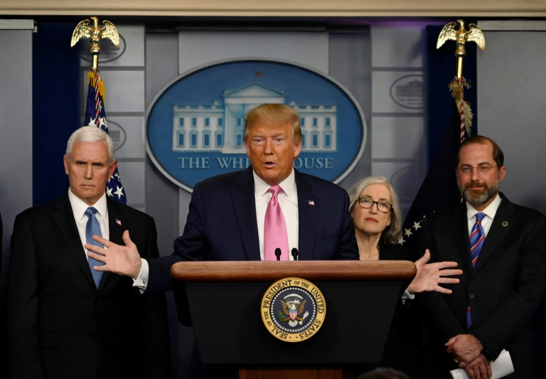 Trump mulls travel bans on Italy, S Korea over virus