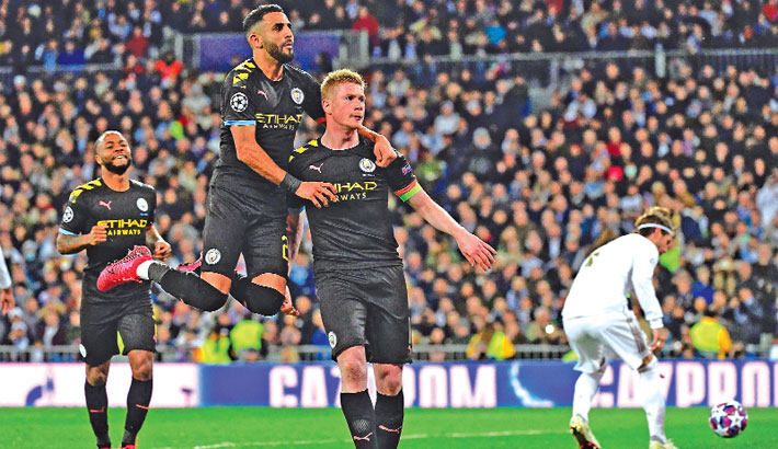 Landmark Man City win in Madrid