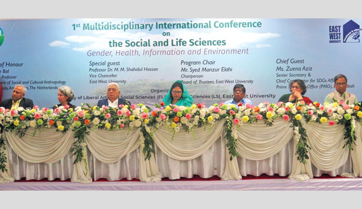 "inaugural session of a three-day multidisciplinary International Conference entitled ""ICSL 2020"