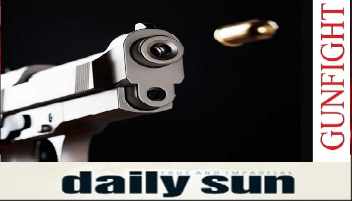 2 'robbers' killed in 'gunfight' with rivals