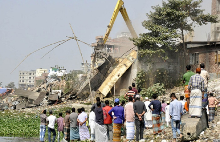 Countrywide eviction drive demolishes 5,574 structures from riverbanks