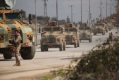 Syria war: 33 Turkish troops killed in air strike in Idlib