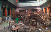 Mob slid down ropes, burnt Delhi school, used it as base for attacks