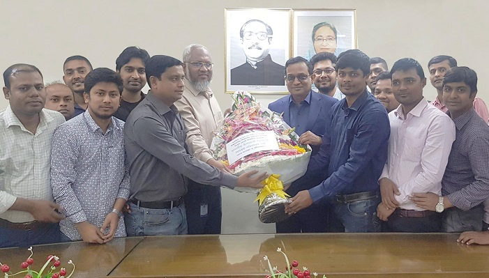 BDU VC Munaz Ahmed elected Chairman of IEB's Civil Engineering Department