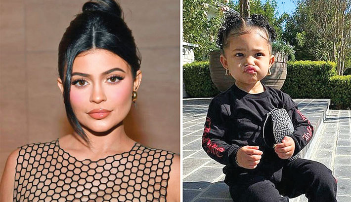 Kylie shares pic of love of her life
