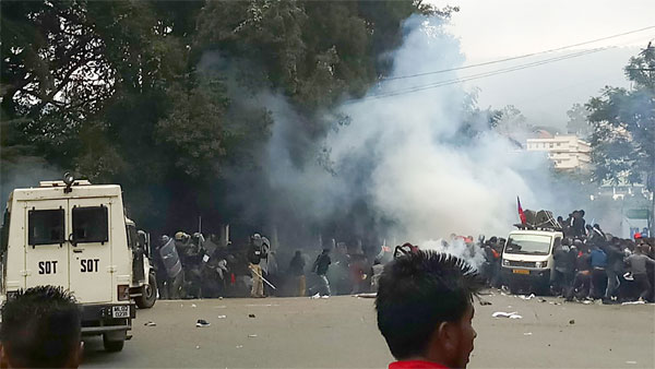 One killed in clash over CAA in Meghalaya, mobile internet services suspended in 6 districts