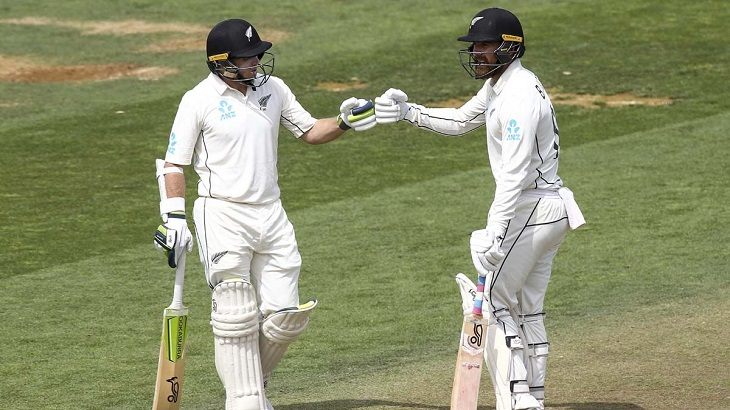 Five-wicket haul for Jamieson as India fold for 242