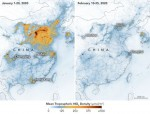 Coronavirus: Nasa images show China pollution clear amid slowdown