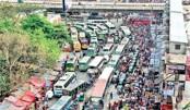 Traffic jam breaking  nation's backbone!