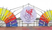 3rd International Art Fest 2020, Nilphamari concludes
