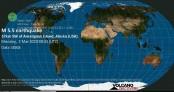 5.8-magnitude quake hits 49km W of Amatignak Island, Alaska -- USGS