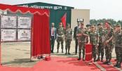 Army Aviation Base inaugurated at Lalmonirhat