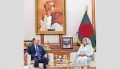 Shringla meets PM