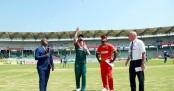 Bangladesh choose to bat first against Zimbabwe in 2nd ODI