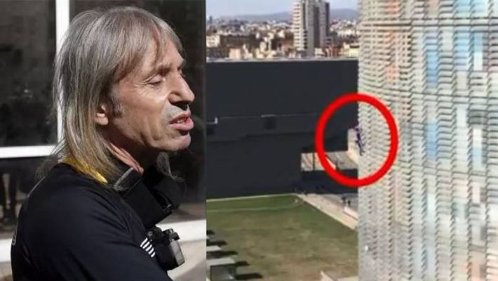 French 'Spiderman' climbs 475-foot tower in just 25 minutes
