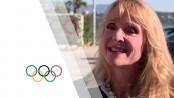 US Olympic swim champion, a rape survivor, fights abuse in sport