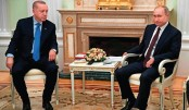 Putin, Erdogan look  to defuse Syria crisis at Moscow talks