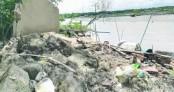 Kopotakkho now a garbage dumping ground in Chougachha