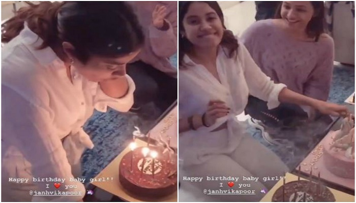 Janhvi Kapoor celebrates birthday with her family members