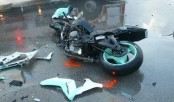 DU student killed as bus hits motorcycle in Banani