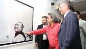 Photography exhibition 'Joy Bangabandhu' at AFD
