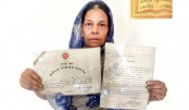 Widow of freedom fighter in ordeal!
