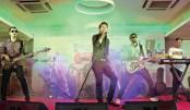 Popular singer Tahsan Rahman Khan performs at a concert tilted