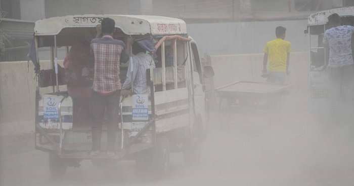 Dhaka ranks third worst in Air Quality Index
