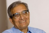 Amartya Sen for responsible behaviour for development